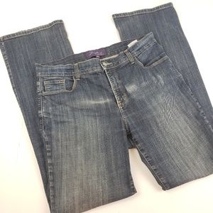 NYDJ I Straight Leg Dark Wash Jeans
